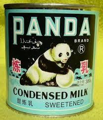 condensed milk can
