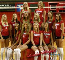 nebraska huskers volleyball