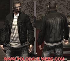 leather polo jackets