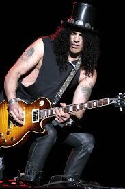 slash custom les paul gold top guitar