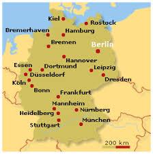 kart tyskland