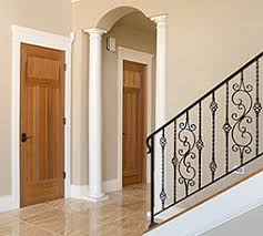craftsman style interior door
