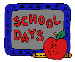 free animated school clip art