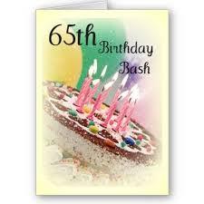 65 birthday party