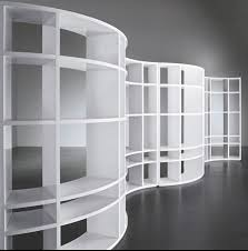 curved bookcases
