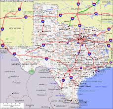 map of texas roads