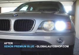 blue xenon headlights