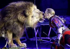 lion tamer photo