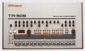 roland 909 drum machine