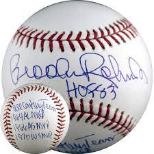 brooks robinson autograph