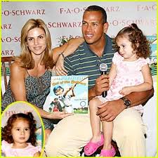 alex rodriguez children