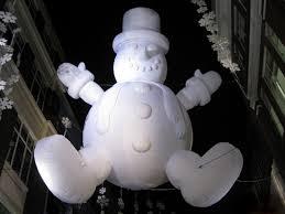 inflatable snowmen