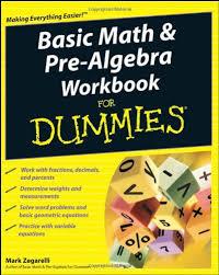 prealgebra workbook