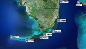 miami weather map