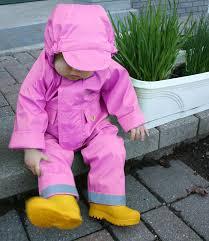 infant rain coat