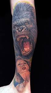 king kong tattoos