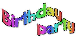 free birthday party clipart