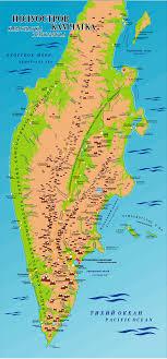 kamchatka peninsula map