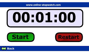running stop watches
