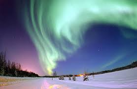 northern polar lights,