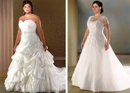 plussize wedding gowns