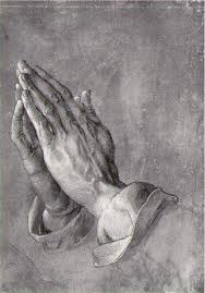 praying hands art