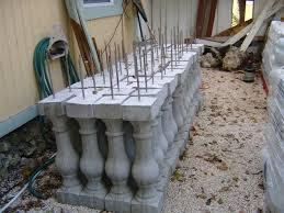 concrete baluster