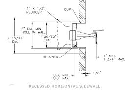 sidewall sprinkler