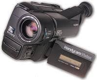 sony video camera 8mm