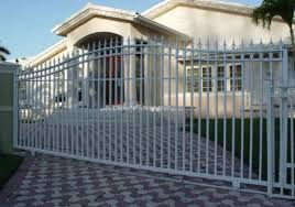 metal entry gates