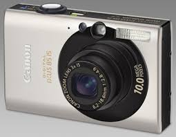 canon ixus 85is silver
