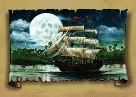pirate ship paintings