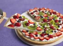 picture of fruit pizza