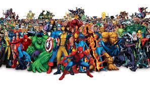 marvel comic book hero