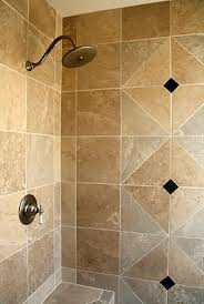 shower stall tiling