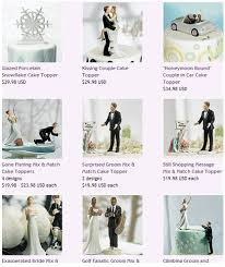 cake toppers funny