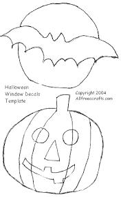 halloween window cling