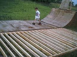 how to make bmx ramps