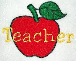 apple for a teacher