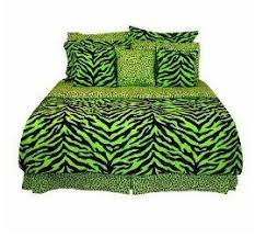lime green bed set