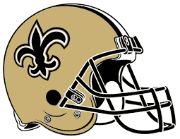 saints helmets