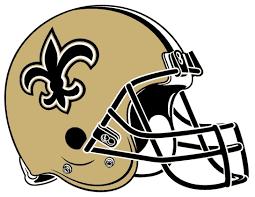 new orleans saints football helmet