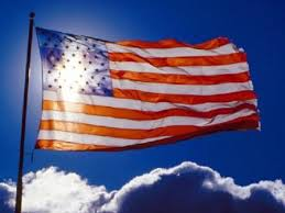american flag cross