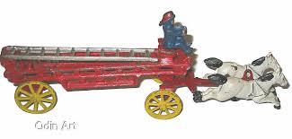 old metal toy