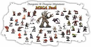 dungeons and dragon miniatures