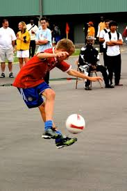 freestyle soccer ball