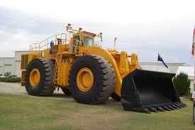 heavy earth moving machinery