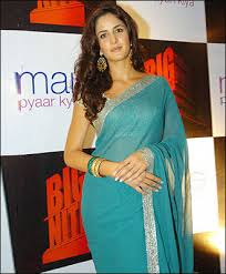 blue saris