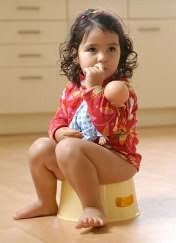 little girls potty