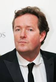 Piers Morgan was caught
